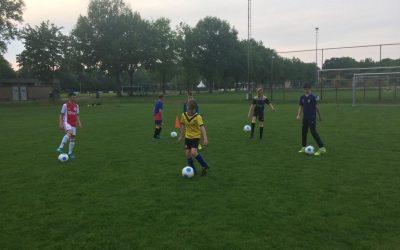 Herstart training jeugd VVV'03